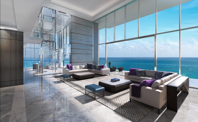 L'Atelier Penthouse Living Rm
