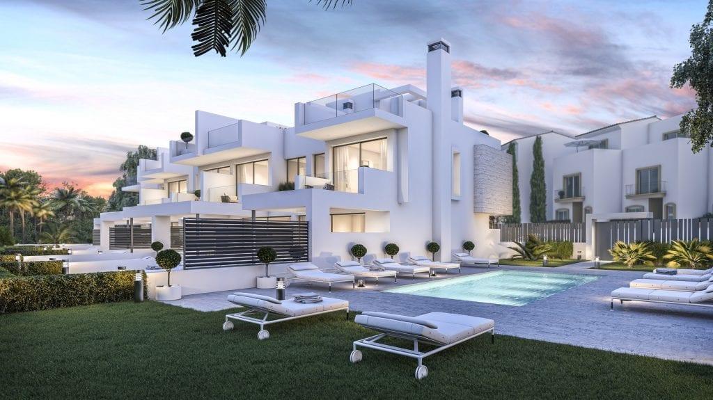 West Beach Estepona casas de ciudad