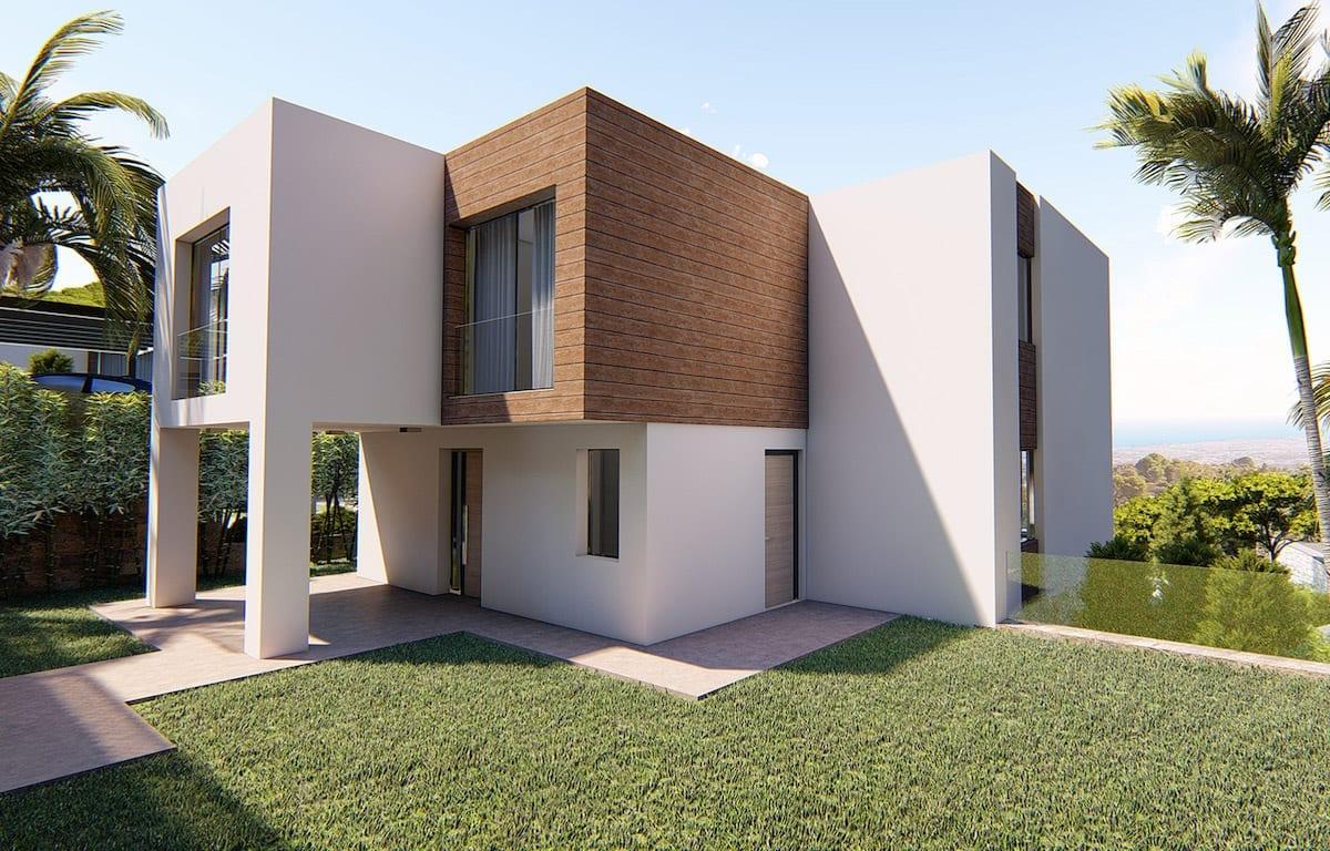 La Seda villas elegantes Mijas Investo International