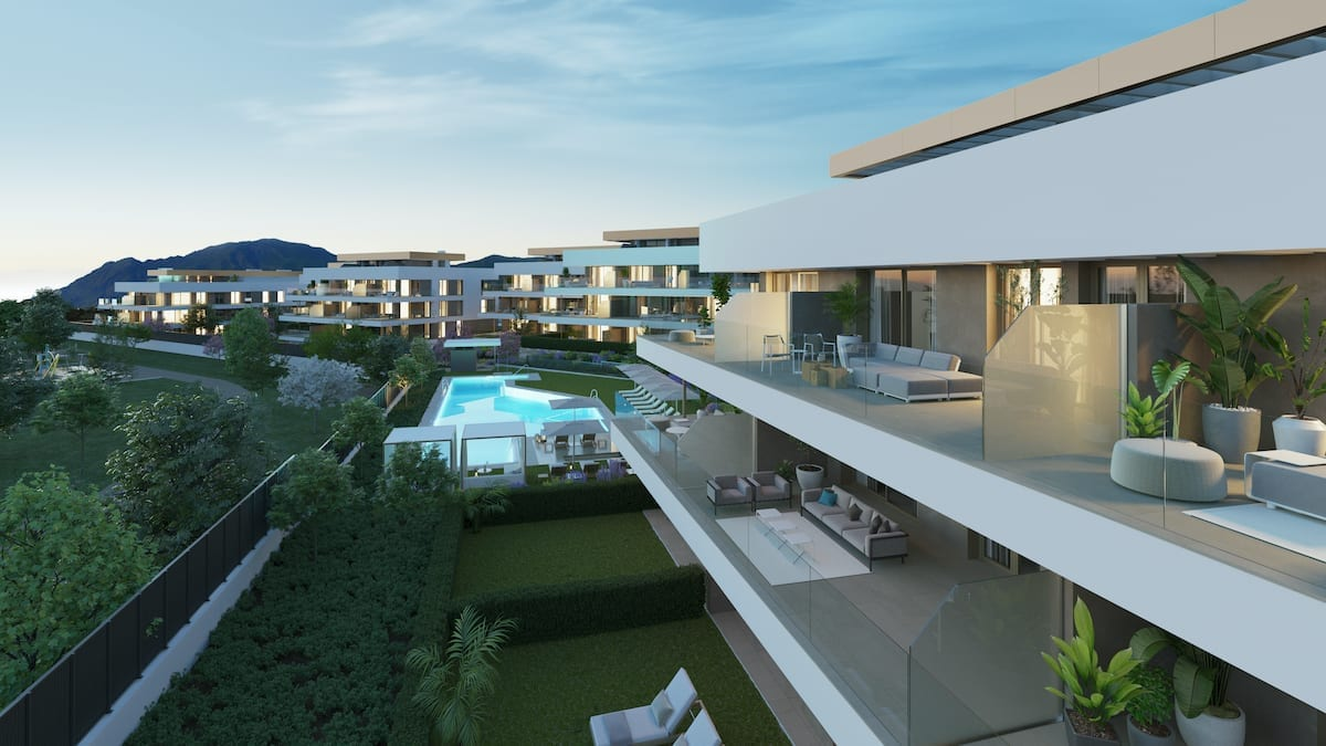 Symphony mediterranean suites estepona investo international